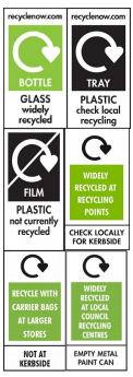 On Pack Recycling Label ORRL